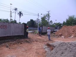 Construction of Site Cleaning & Survey Work