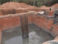 Construction of Foundation  Work