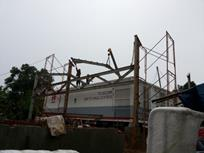 Construction of Steel Structure Installation Work
