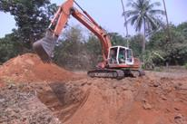 Construction of Excavation  Work